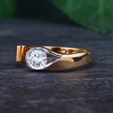 916 gold Hallmark Stylish Design Ring