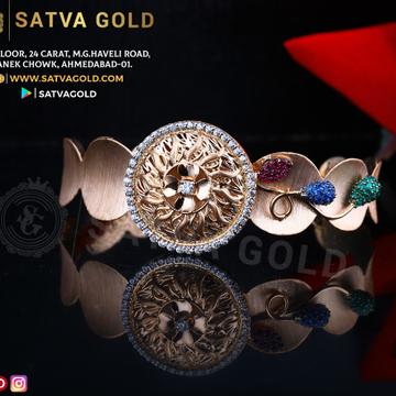 76 ROSE GOLD KADA SGK-0011
