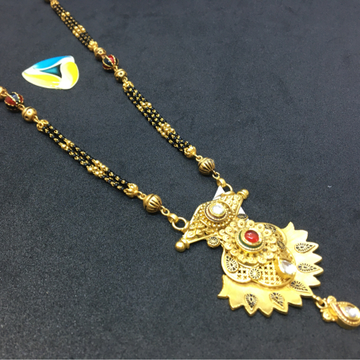 fancy piece of 916 antique mangalsutra