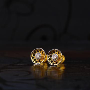 22kt Gold Designer Fancy Hallmark Earrings LSE165