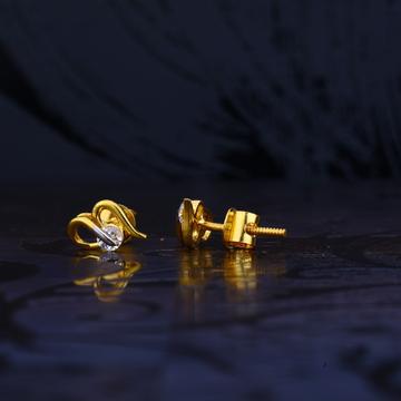 22ct Gold Designer Ladies Earring LSE97