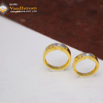 22ct(916) c.z couple rings by