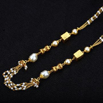 Ladies 916 Gold Antique Mala-AC09