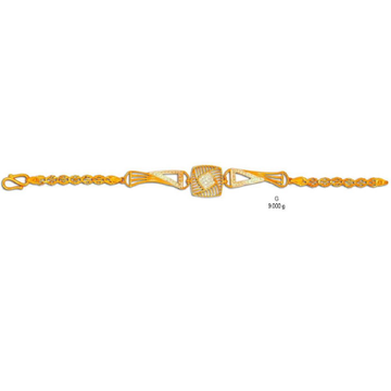 22K/916 gold Fancy Ladies Lucky (Bracelet)
