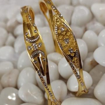 916 Gold Stylish Ghaba Bangle SG53 by