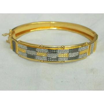 22k Gents Fancy Gold Lock Kada G-3712