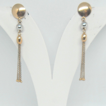 18KT Rose Gold fancy Special occasional Earrings for Ladies BTG0213