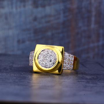 Mens Gold Casting 22K Ring-MR433