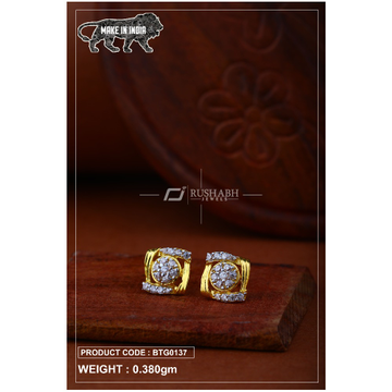 18 carat gold Ladies round tops btg0137 by