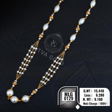916 gold mala MLG-0129