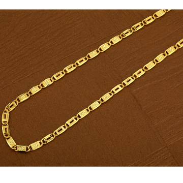 22kt  Gold Hallmark  Classic   Men's  Nawabi Chain  MNC13