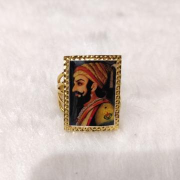 916 Gold Gent's photo mina Ring