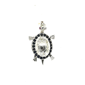 925 Sterling Silver Tortoise Pendant MGA - PDS0049