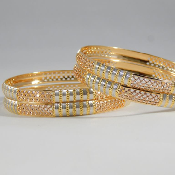 22Kt Yellow Gold Nicolla Bangles For Women