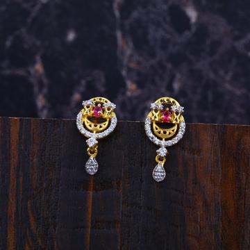 Ladies 916 Gold Earrings-LFE03