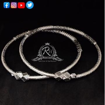 silver classical ladies kada payal RH-LP293