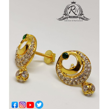 22 carat gold earrings RH-ER262