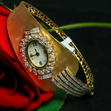 Attractive fancy Oval Shape ladies watch 916