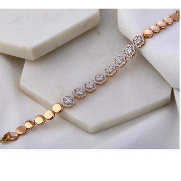 18KT Rose Gold Hallmark stylish Women's Bracelet R...
