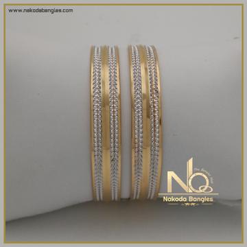 916 Gold Khilla Bangles NB-337