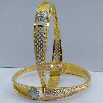 22KT/ 916 Gold fancy wedding 2-in-1 Design Cooper... by
