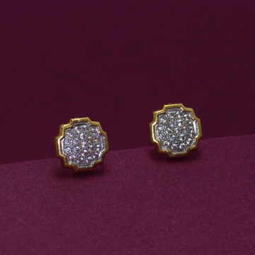 22KT Hallmarked Classic Earring by Simandhar Jewellers