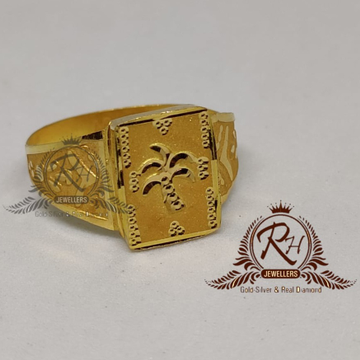 22 carat gold fancy gents rings RH-GR903