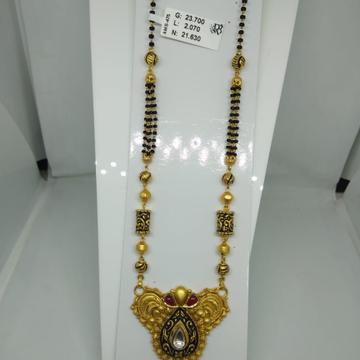 916 antique mangalsutra ams475