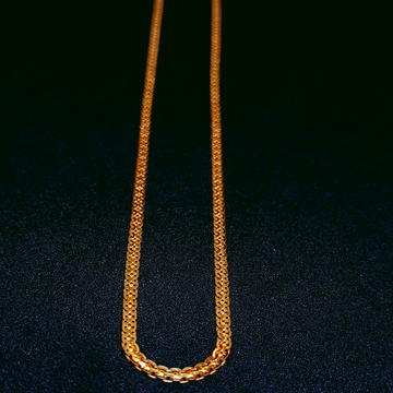 22Kt Gold Chain For Daily Wear by Ghunghru Jewellers