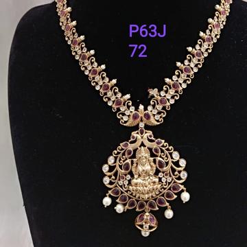 temple antique necklace set#dcns163