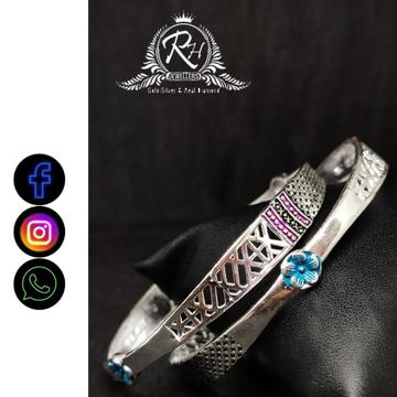 silver fancy kada RH-LK455