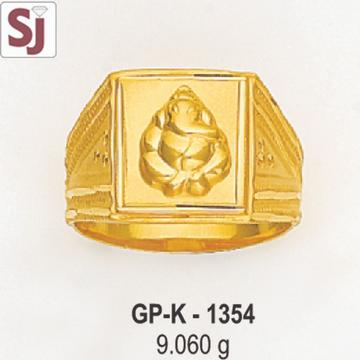 Ganpati Gents Ring Plain GP-K-1354