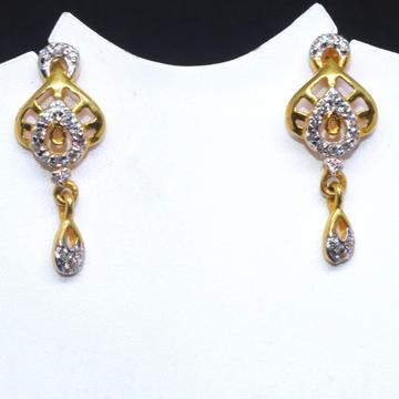 22KT / 916 Gold Fancy Delicate earring for Ladies BTG0034