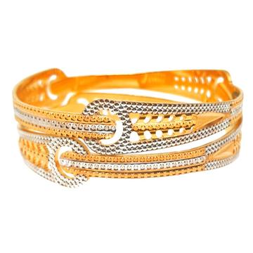 One gram gold plated designer bangles mga - bge0414