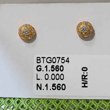 22 KT GOLD DIAMOND TOPS by