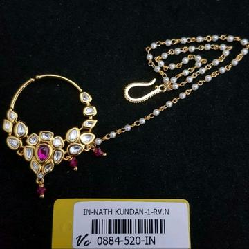 beautiful pink nosepin#686