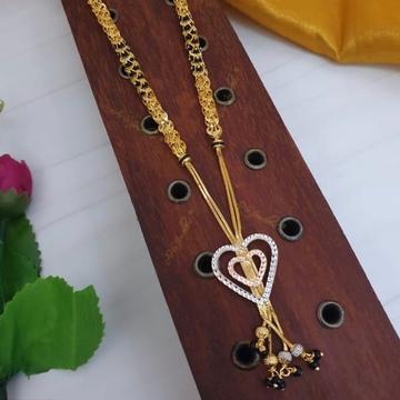 916 gold cz heart design dokiya sbs-n01