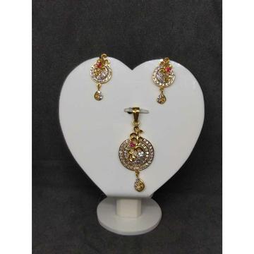 Women's 916 gold pendant set NO-39501