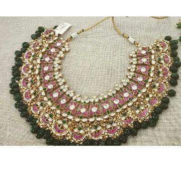 Colorful Jadtar Necklace Set