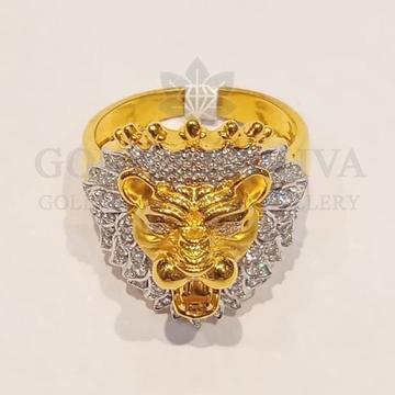 22kt gold ring ggr-h36