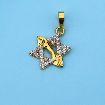 22ct Star Shape Gold Pendant LFP48