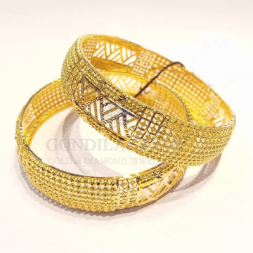 20kt gold bangle gbg58