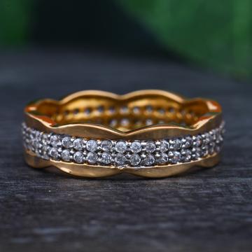 916 gold hallmark Modern ring for women