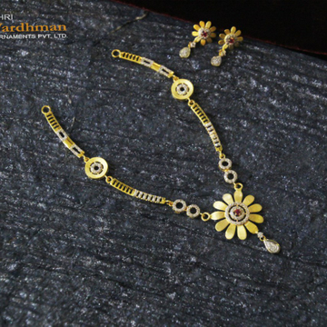 22ct fancy dokiya+set with extraordinary butti by