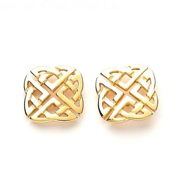 22kt, 916 Hm, Yellow Gold textured crossed tops Jke108.