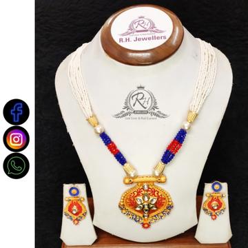 22 carat gold ladies necklace set RH-LS517