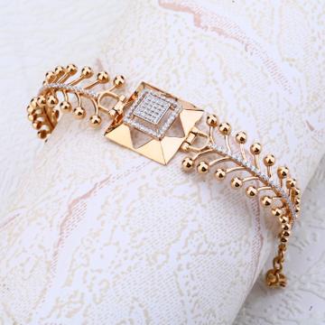 Ladies kada bracelet Rosegold 18ct by