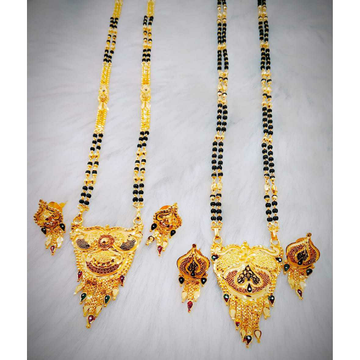 Gold Mangalsutr Pandal by