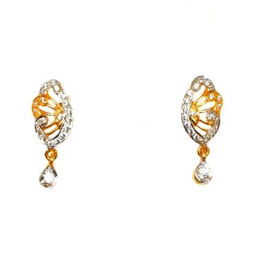 22K Gold Fancy Earrings MGA - BTG0109