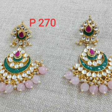 Chand Bali Geen Colour For All Occasions